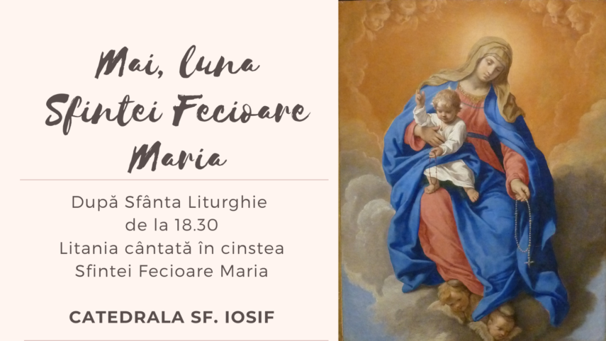 Mai, luna Sfintei Fecioare Maria