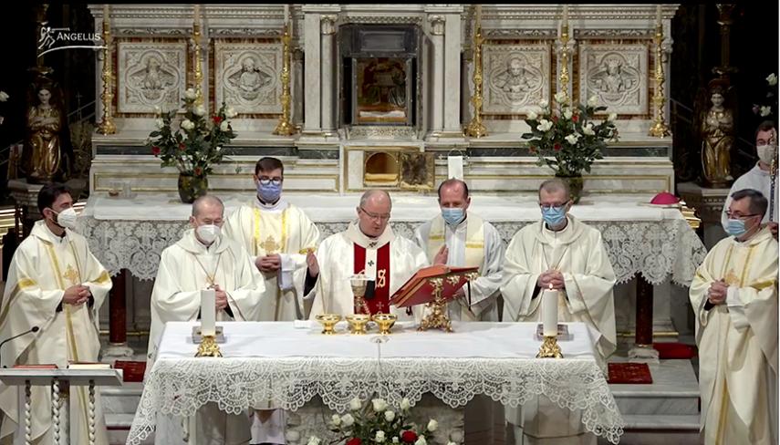 """in Coena Domini"""" la Catedrala Sfantul Iosif"""